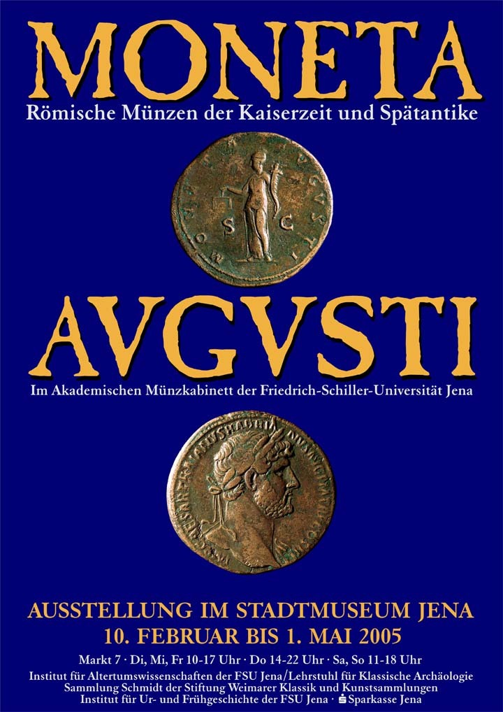 Moneta Augusti Römische Münzen Der Kaiserzeit Im Akademischen